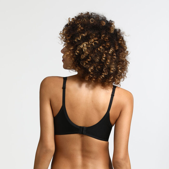 Beauty Lift Black push-up bra, , DIM