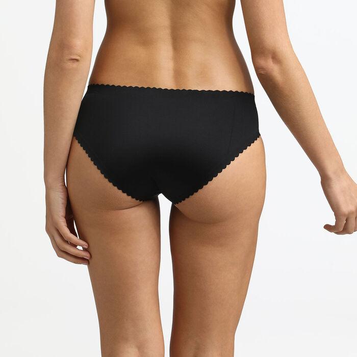Body Touch Dim Black microfibre panty, , DIM