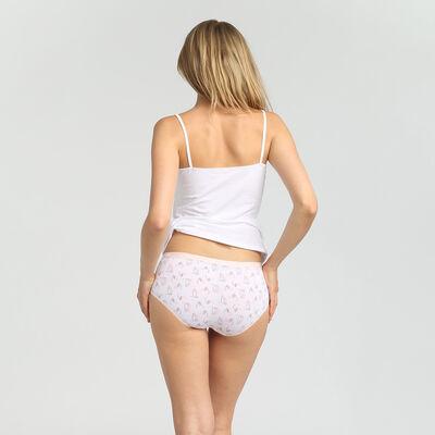 Набор 5шт.: Хлопковые шорты с романтическим принтом Dim Les Pockets Cotton, , DIM