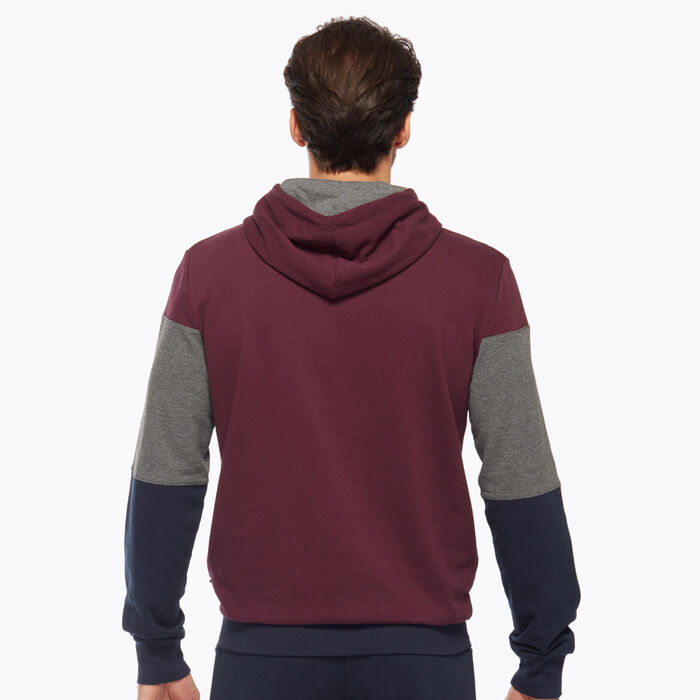 Navy blue, Burgundy and Grey Men's Sweater, , DIM