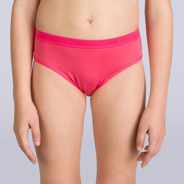 Set of 2 DIM Pocket Micro Girl passion pink knickers - DIM