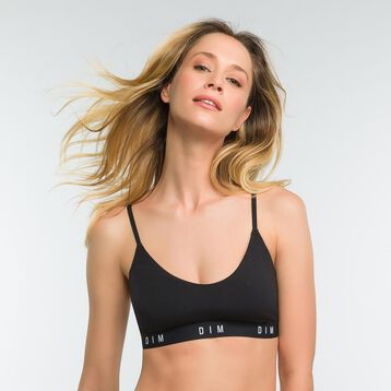 Black non-wired bra for women - DIM Originals, , DIM