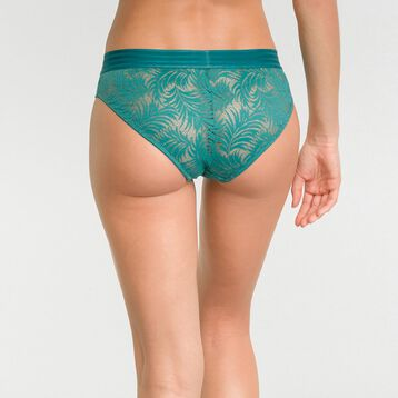 Green lace shorty - MOD de Dim, , DIM