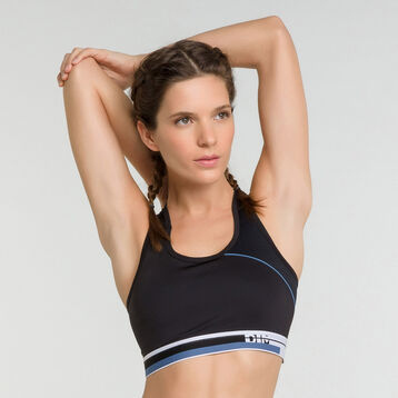 Minimum support sport bra in black  - Dim Sport, , DIM