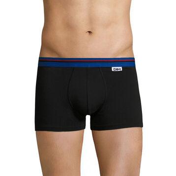 Boxer noir ceinture bleu outremer DIM Colors-DIM