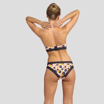 Floral padded strapless bra Dim Trendy Micro, , DIM