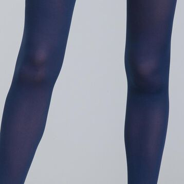 Body Touch 60 ultra-opaque navy blue tights, , DIM