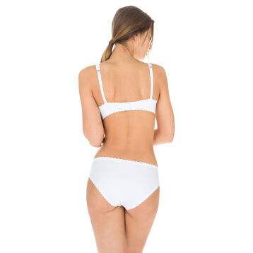 Slip blanc Body Touch seconde peau Femme, , DIM