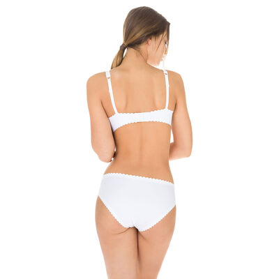 Body Touch Femme women's second skin bikini knickers in nude, , DIM