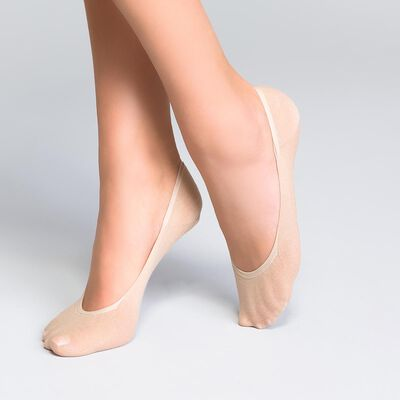 Pack of 2 Sublim Absolu® Resist 15 ladder resist knee highs in natural beige, , DIM