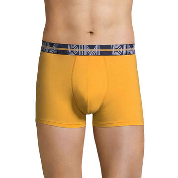 DIM Powerful mustard yellow boxers - DIM