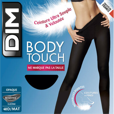 Body Touch Opaque 40 tights in black, , DIM