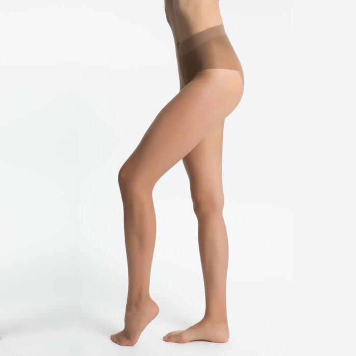Teint de Soleil 17 tummy flattening bronzer tights in tan, , DIM