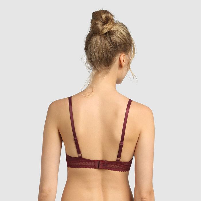 Dim Trendy Micro deep chocolate underwired triangle bra, , DIM