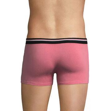 Boxer rose foncé ceinture noire DIM Colors-DIM