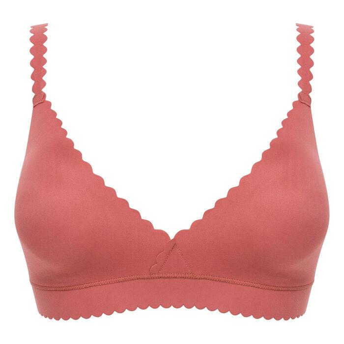 Wireless triangle bra in cedar pink - Dim Body Touch, , DIM