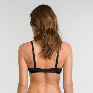 Push up bra in black lace - Dim Daily Glam Trendy Sexy, , DIM