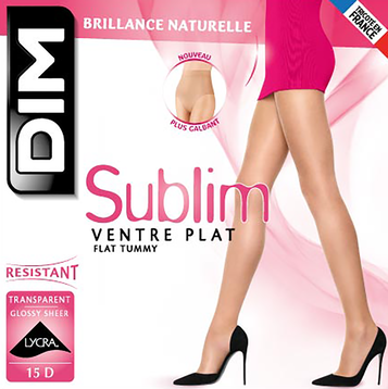Collant gazelle Sublim Ventre Plat 15D-DIM