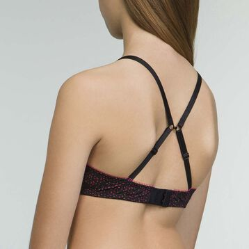 Girls' Bra with Molded Cups in Passion Color Dim Graphique, , DIM