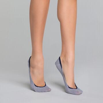 Navy blue women's footsies - Invisifit , , DIM