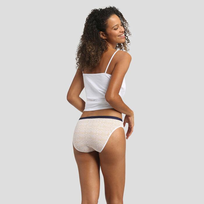 3 pack mimosa print briefs Les Pockets Coton Stretch de Dim, , DIM