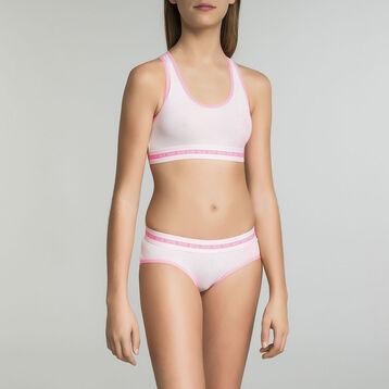 Pink sports bra for Girl - Dim Sport , , DIM