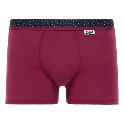 Boxer rouge cerise Mix & Dots-DIM