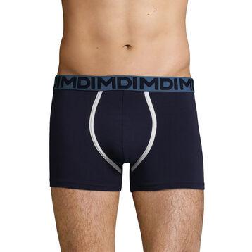 Stretch cotton Denim Blue trunks  Mix & Fancy, , DIM