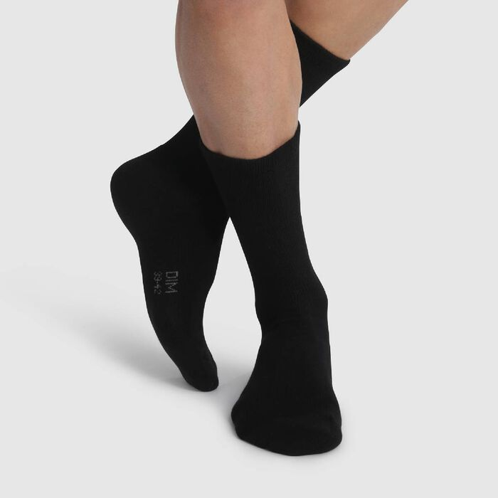 Men's special Outdoor pack of 2 socks in Black, , DIM