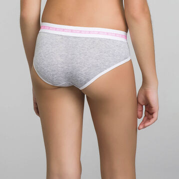 Shorty gris chiné - Dim Sport , , DIM