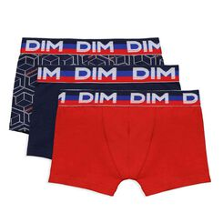 Set of 3 DIM Boy sailor blue boxers - DIM