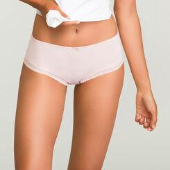 Shorty Skin Rose pour femme en microfibre Micro Lace Bar à Culottes, , DIM