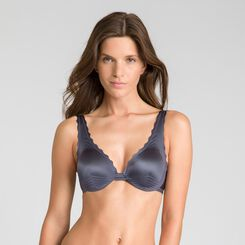 Beauty Lift granite grey shoulder bra - DIM