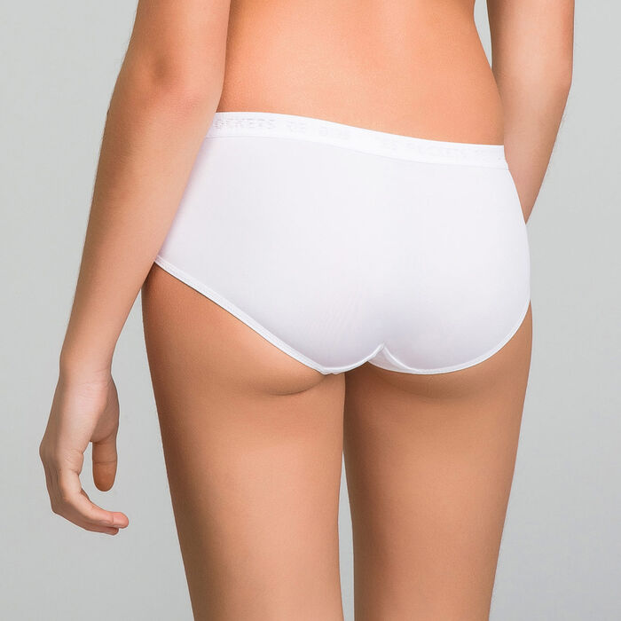 2 pack white shorties for girl- Pocket Micro , , DIM