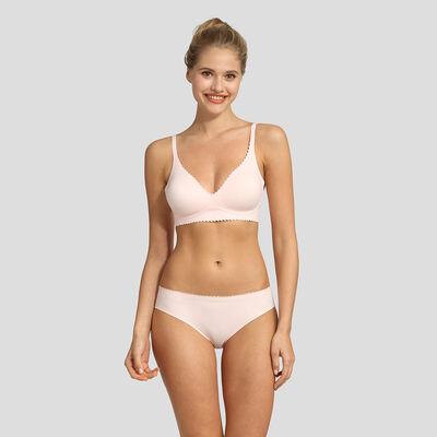Pink soft triangle bra Dim New Body Touch Libre de Dim, , DIM