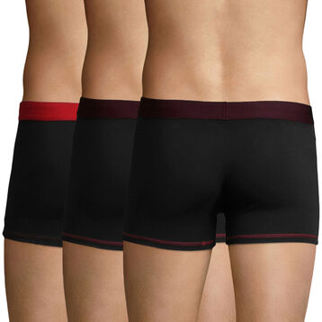 3 Pack Black, Eggplant and Berry Red Color Mix trunks, , DIM