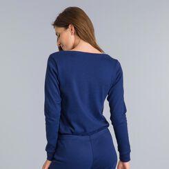 Essential sailor blue long-sleeve T-shirt - DIM