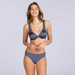 Beauty Lift Woman total invisibility granite grey knickers - DIM