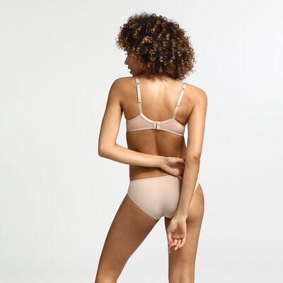 Generous Invisible New Skin Ampliform underwire bra, , DIM