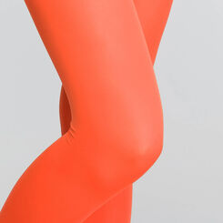 Fire-orange opaque 50 tights - DIM Style, , DIM