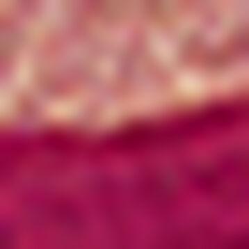 Lot de 2 paires de mi-chaussettes Bordeaux Effet lurex pour femme , , DIM