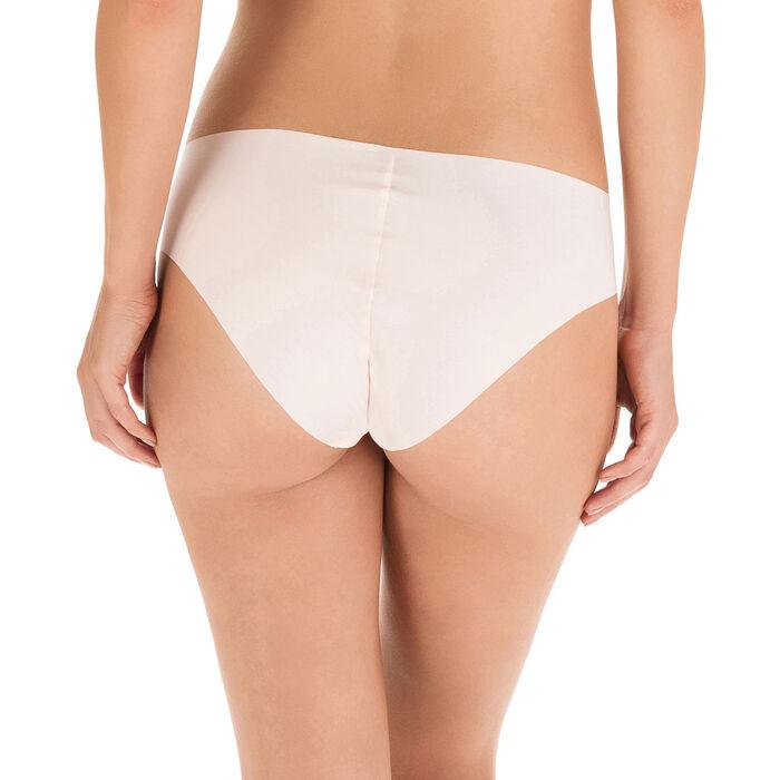 Slip rose ballerine en microfibre Nude Support-DIM