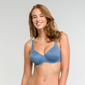 Microfibre Bra in antique blue  - Dim Body Touch, , DIM