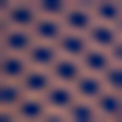 Infinite Blue brief with polka dots Dotty Mesh, , DIM