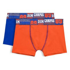 Set of 2 DIM Boy pumpkin orange boxers - DIM