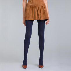 DIM Signature 158 navy cashmere tights - DIM