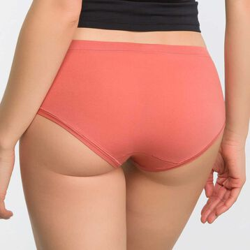 2 pack old rose and purple shorties - Body Mouv, , DIM