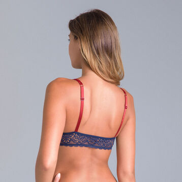 DIM Sublim MOD midnight blue triangle bra - DIM