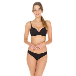 Slip noir seconde peau Invisi Fit-DIM