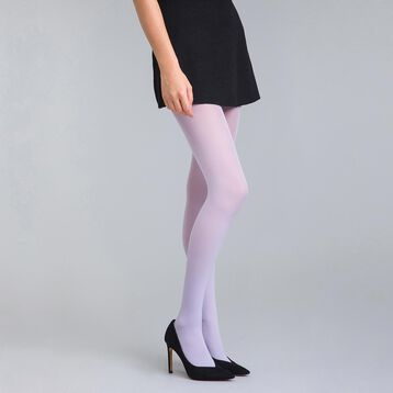 Style 50 velvety lilac opaque tights - DIM
